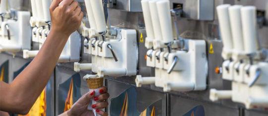 machines à glace italienne