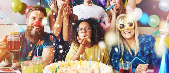 l'organisation d'un anniversaire